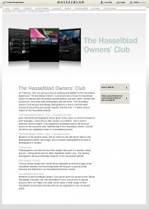 Hasselblad Owners Club