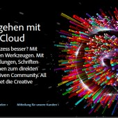 CC &#8211; Adobe&#8217;s Creative Cloud und mein Senf&#8230;