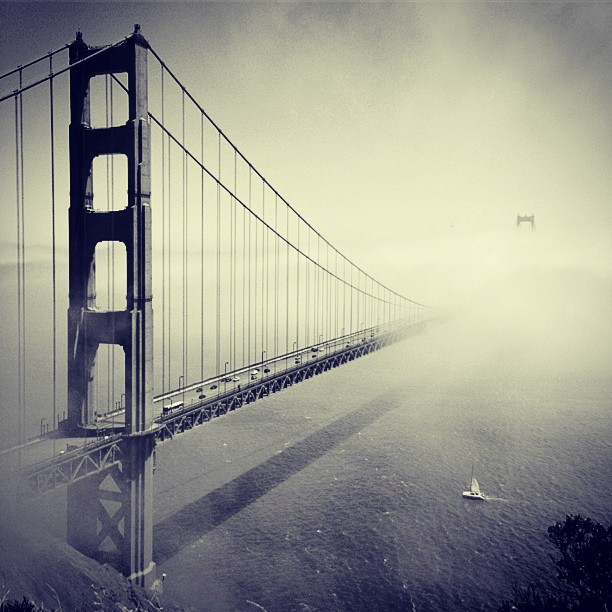 Golden Gate - study - Ronny Ritschel Photography