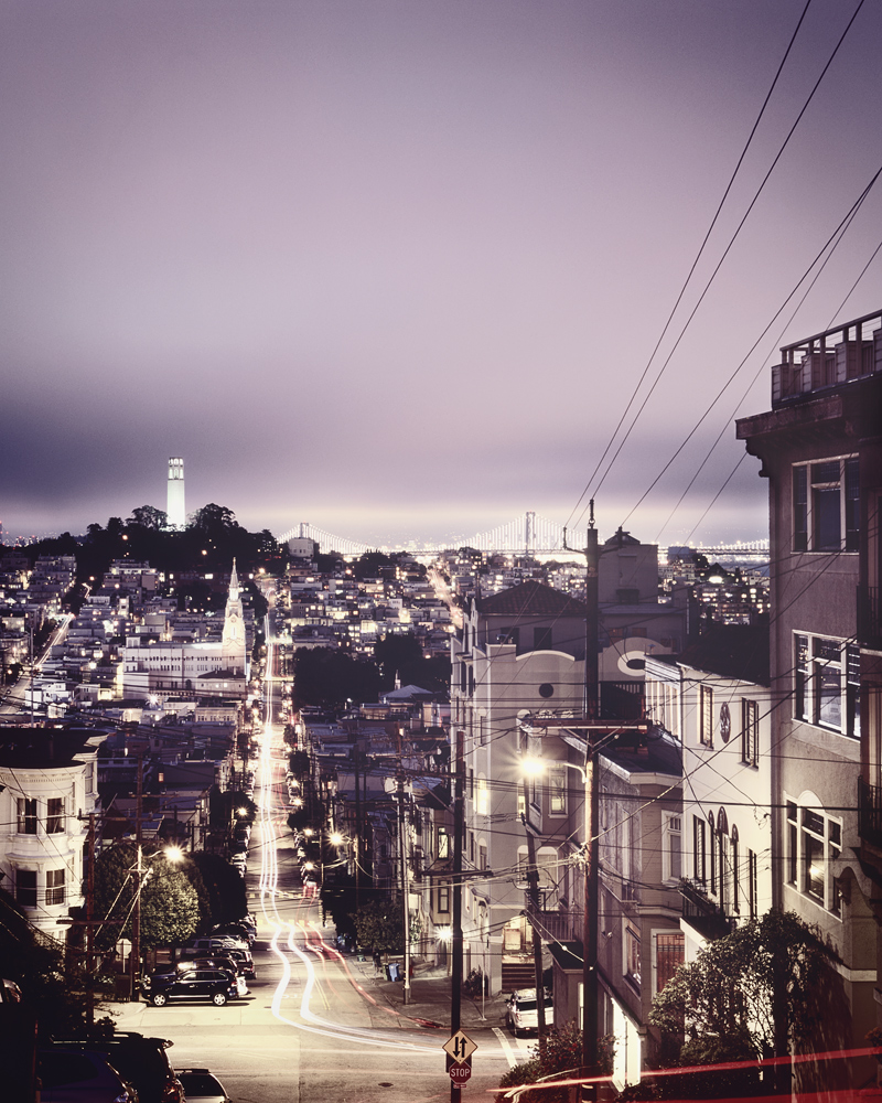 Telegraph Hill - San Francisco,*4x5 - USA