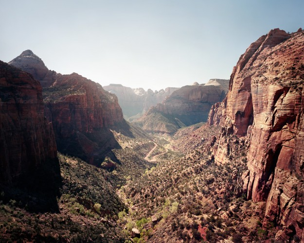 [Zion National Park],4x5 - USA