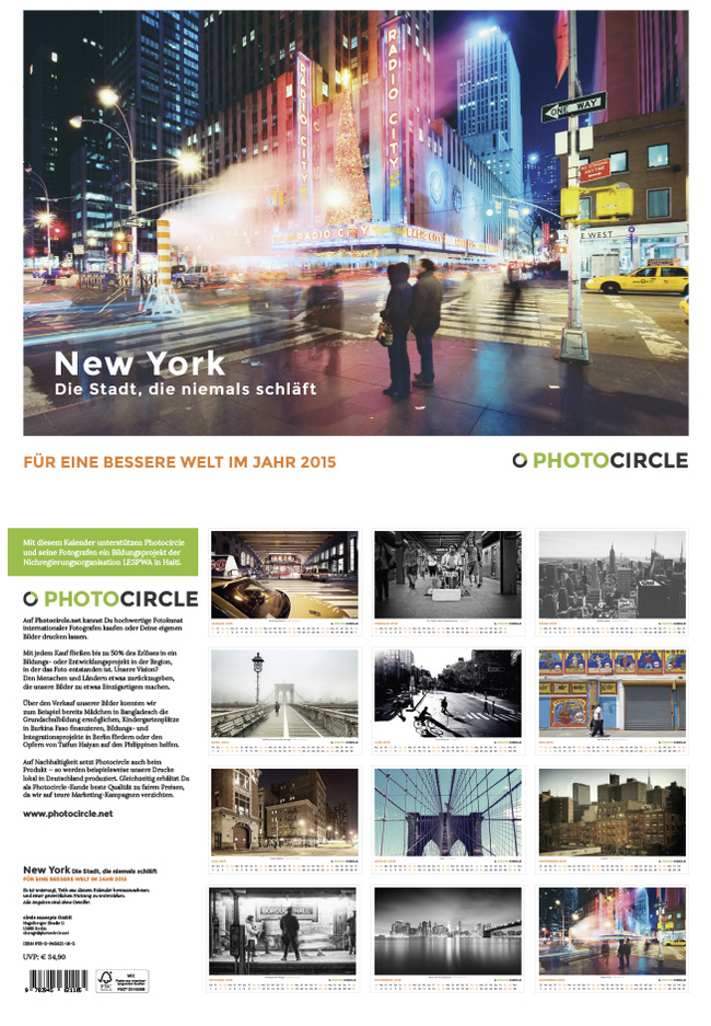 Photocircle - NYC Kalender