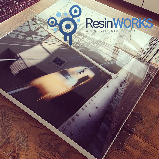 ResinWorks - Material für die Veredelung von Fotografien